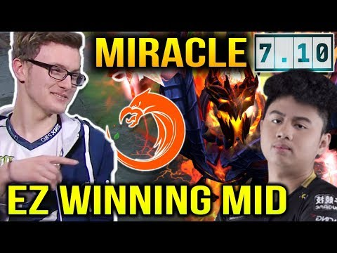 MIRACLE Shadow Fiend vs TNC.Armel Lina in Dota 7.10 Winning Mid is not Enough