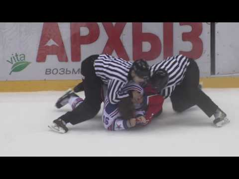 Sochi Hockey Open Fights: Геннадий Столяров vs Сергей Плотников