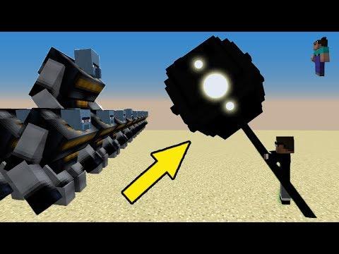 МОД НА НУБ против 1000 КЛОНОВ НУБОВ МАРСИАН - Троллинг НУБА в Minecraft Серия 20