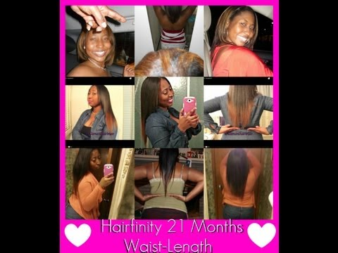 ❤Hairfinity WAISTLENGTH. 21 Month Progress!!  Update #5