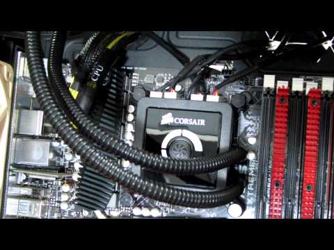 How to Install the Corsair H100 Liquid CPU Cooler