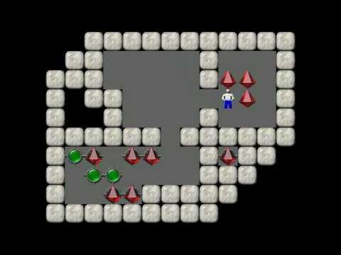 Sokoban Levels Games Sokoban Solving Level 4