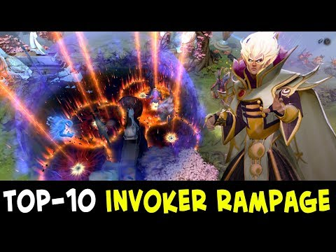 TOP-10 Invoker RAMPAGES — Divine Rank
