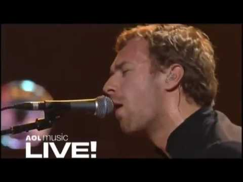 Coldplay Speed Of Sound Live At AOL Music 2005