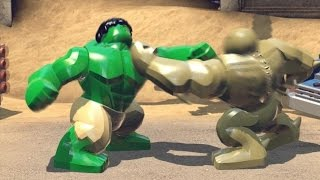HULK VS ABOMINATION  -  LEGO MARVEL SUPER HEROES