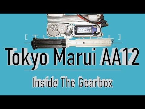 [TUTORIAL] Tokyo Marui AA12 TAKEDOWN/DISASSEMBLY Pt.2: Inside The Gearbox