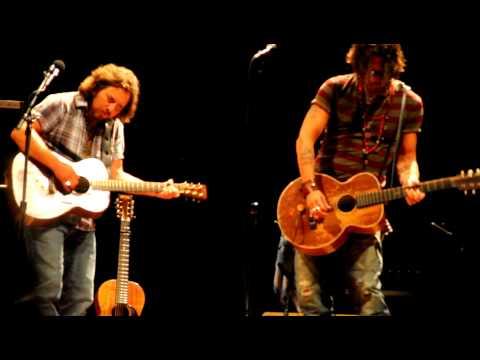 Eddie Vedder&Johnny Depp -