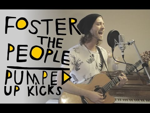 Pumped Up Kicks - Foster The People (Acoustic Loop Pedal Cover) With Lyrics and Tabs!