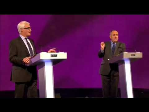 Scottish Independence  Heated Debate Salmond v Darling The Oil Question 25th aug