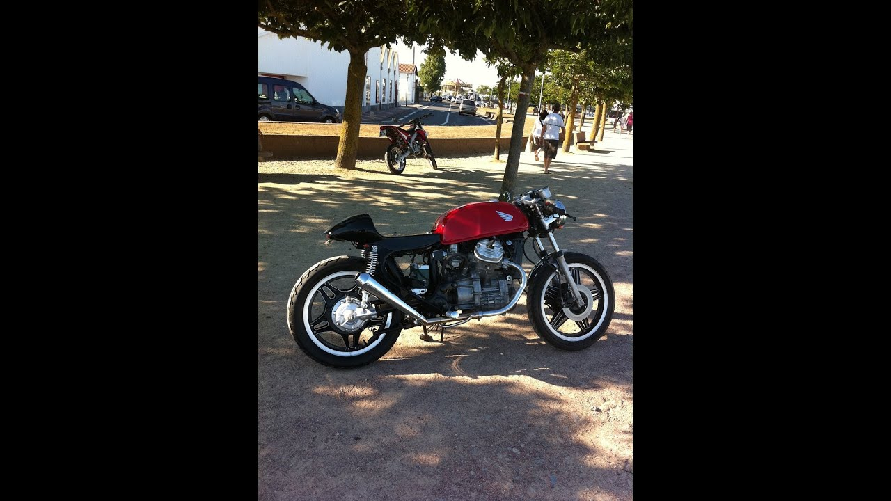 caf racer 500cx   youtube