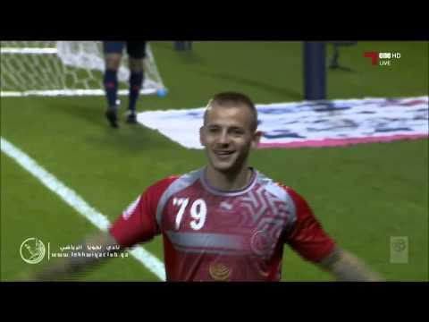 لخويا 1-0 السد ( هدف لخويا Lekhwiya Goal ) قناة الكأس1