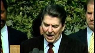 Ronald Reagan-Speech on the Creation of MLK Jr., National Holiday (November 2, 1983)