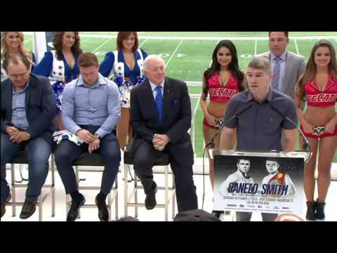 """Liam """"Beefy"""" Smith   Canelo Smith Press Conference Remarks"""
