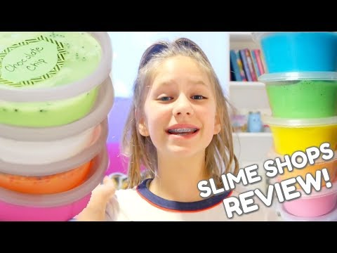 Slime Shop Slimes Reviews from the Children's Business Fair   How to Make a Slime Shop Episode 6