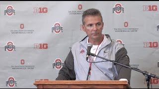 Urban Meyer press conference after 2017 Spring Game