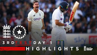 Dominant All-Round Performance!   England v India - Day 1 Highlights   3rd LV= Insurance Test 2021