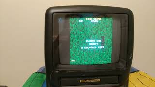 Ms. Pac Man Plug and Play Test Run