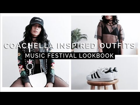 Coachella Inspired Outfits || Music Festival Lookbook