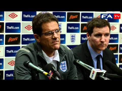 England v France - Fabio Capello Press Conference 17/11/10