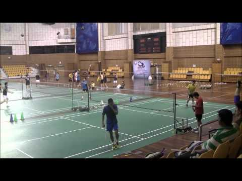 Lee Chong Wei is training before Olympics 2012