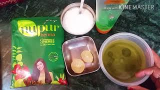 GET SHINY HAIR SILKY HAIR SMOOTH HAIR how to make henna pack for hair