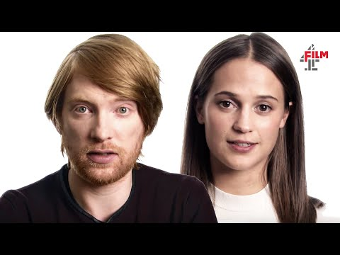 Alicia Vikander & Domhnall Gleeson   Ex Machina Interview Special