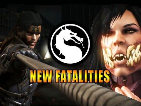 New Fatalities & Intros: Mileena, Takeda, Kung Jin (mortal Kombat X) video
