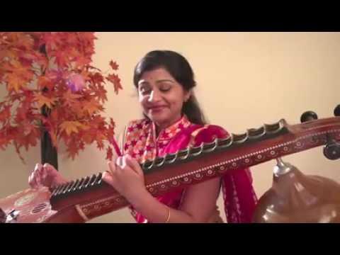Kanmani Anbodu Kadhalan   Guna Tamil Song   Instrumental Veena