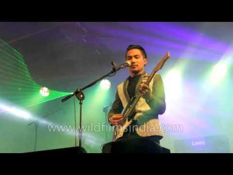 Rock/Pop Nepali musicians - Sabin Rai & The Elektrix