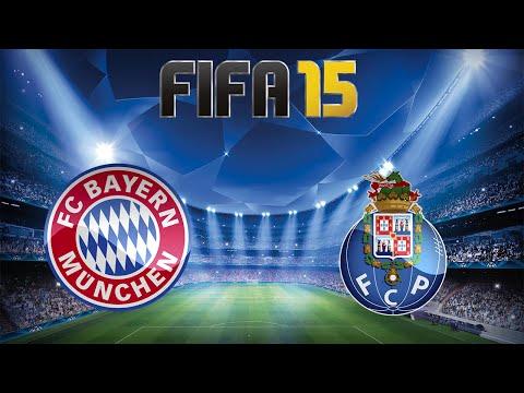 FIFA 15 - UEFA Champions League: Bayern X Porto - Volta