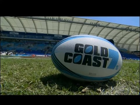 Fiji vs England Semi Finals Gold Coast 7's 2014/15 Season October 11/12th