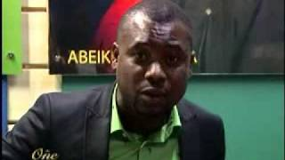 Abeiku Dr. Abeiku Santana on the One Show Programme