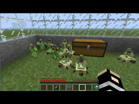 NEW !!!  MINECRAFT 1.2.5 CLAY SOLDIERS MOD!!!!