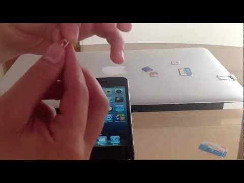 cortando nano sim iphone 5