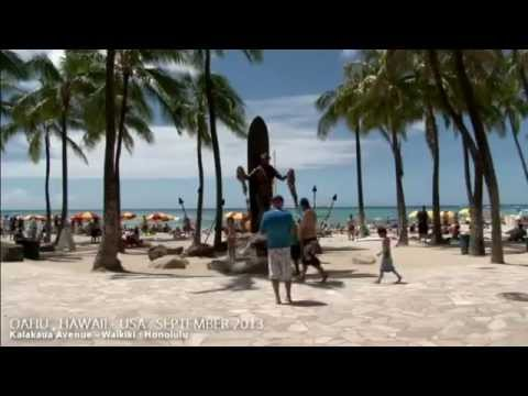 Hawaii Travel Guide  Music Instrumentals  ワイキキビーチ