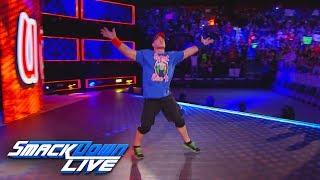 John Cena returns on Fourth of July SmackDown LIVE June 13 2017