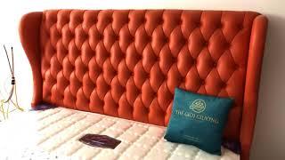 Giường Bọc Da - V7701 -  GOBY