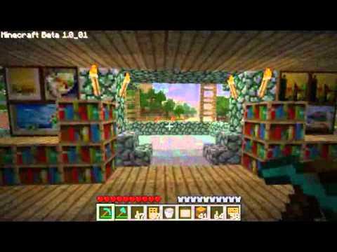 Minecraft la casa del capobastone parte 1 youtube for Case belle su minecraft