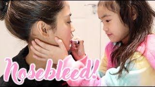 KID DOES MY MAKEUP!!