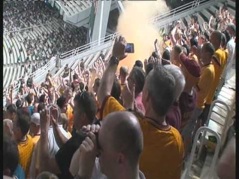 Motherwell Fans In Athens - Syntagma Square, and Olympic stadium
