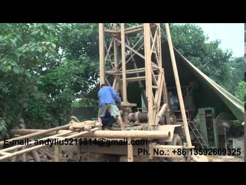 1000m water well drilling rig AKL S 600 video 03 for upload