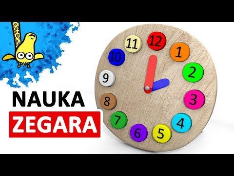 Nauka Zegara Dla Dzieci - Zegar Dla Dzieci |  CzyWieszJak