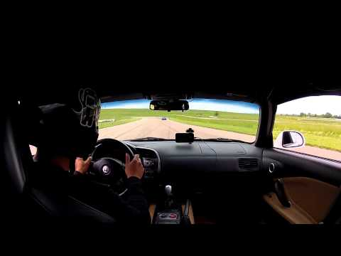 Heartland Park Topeka HPT 2.5M Grand Prix track NASA Time Trials June 1 2014 TTC Honda S2000 (AP1)