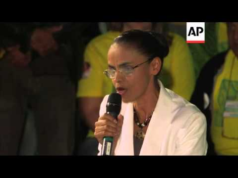 Silva concedes defeat as Rousseff and Neves to contest run-off