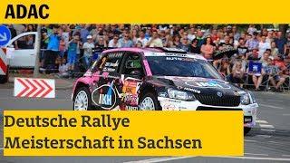 DRM Deutsche Rallye Meisterschaft Sachsen I ADAC 2018