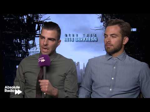 Chris Pine & Zachary Quinto full interview - Star Trek Into Darkness
