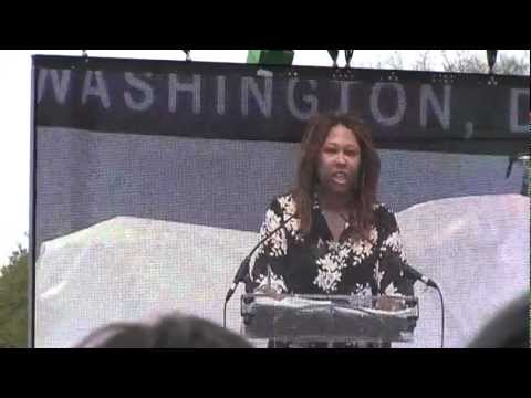 Jamila Bey at Reason Rally 2012