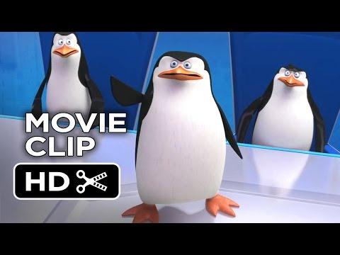 Penguins of Madagascar Movie CLIP - North Wind Headquarters (2014) Benedict Cumberbatch Movie HD