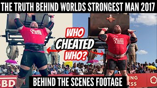 EXPOSED! Cheating scandal at Worlds Strongest Man | Hafthor Bjornsson