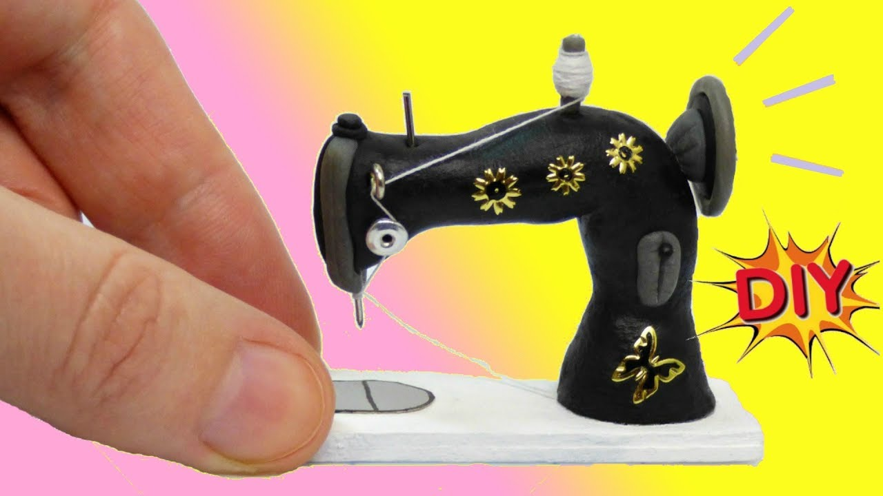 Швейная машинка для кукол своими руками 108